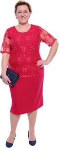 eaae2c396b4501 sukienka malinowa - stylowo i modnie z Allani