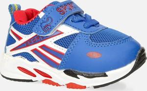 Niebieskie buty sportowe dziecięce Casu