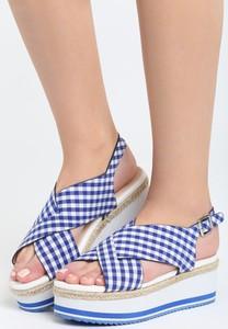 Niebieskie sandały Multu