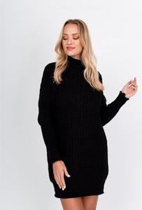 Czarny sweter ZOiO.pl w stylu casual