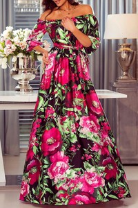Sukienka Ivet.pl maxi hiszpanka w stylu boho