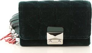 Czarna torebka Karl Lagerfeld ze skóry