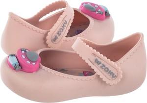 Różowe balerinki Zaxy