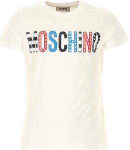 Koszulka dziecięca Moschino z bawełny