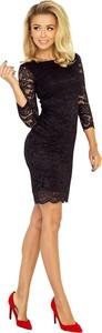 Czarna sukienka Coco Style bodycon
