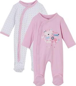 Pajacyk niemowlęcy (2 szt.), bawełna organiczna | bonprix