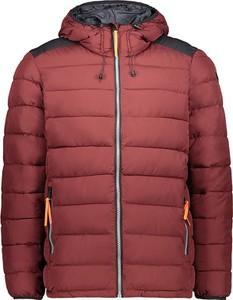 Czerwona kurtka CMP krótka w stylu casual