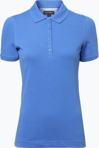 Franco Callegari - Damska koszulka polo, niebieski