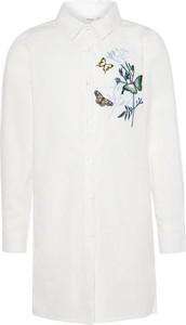 Koszula dziecięca Name it z bawełny dla dziewczynek