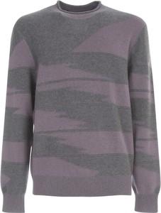 Fioletowy sweter Z Zegna