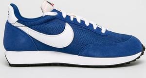 Buty sportowe Nike sznurowane ze skóry ekologicznej