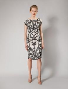 Sukienka Molton z okrągłym dekoltem