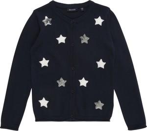 Granatowa bluza dziecięca Blue Seven z bawełny