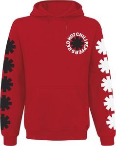 Czerwona bluza Emp z nadrukiem w młodzieżowym stylu z bawełny
