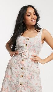 Sukienka Asos z lnu