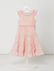 Różowa sukienka dziewczęca Review For Kids