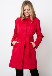 Różowy płaszcz QUIOSQUE