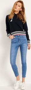 Niebieskie jeansy Diverse z bawełny w stylu casual
