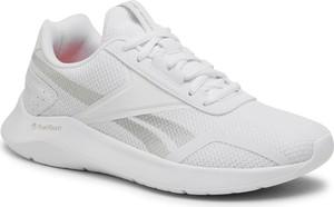 Buty sportowe Reebok ze skóry ekologicznej sznurowane