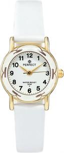 Zegarek na komunię damski PERFECT - L248-1A -biały