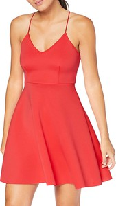 Sukienka New Look rozkloszowana z neoprenu z dekoltem w kształcie litery v