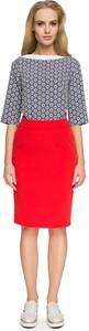Czerwona spódnica Style w stylu casual