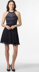 Granatowa sukienka Marie Lund