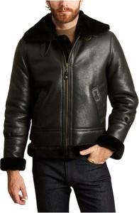 Czarna kurtka Schott NYC w stylu casual