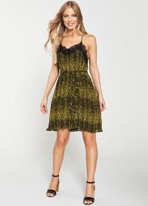 Sukienka V by Very mini na ramiączkach