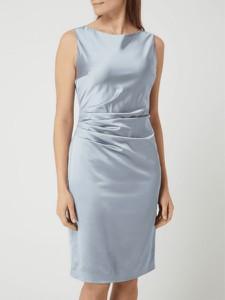 Sukienka Swing bez rękawów z okrągłym dekoltem