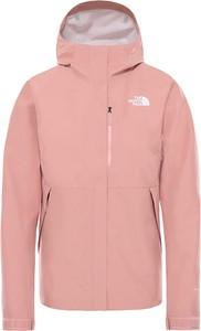 Różowa kurtka The North Face w sportowym stylu krótka