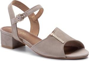 Sandały Maciejka z zamszu w stylu casual