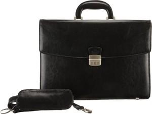 Czarna torebka Perfekt Plus do ręki duża