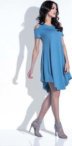 Sukienka SALE z krótkim rękawem
