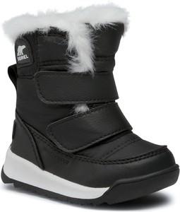 Buty dziecięce zimowe eobuwie.pl na rzepy