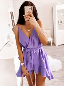 Sukienka Pakuten z tkaniny mini