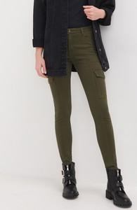 Zielone jeansy Sinsay z jeansu