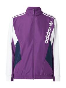 Fioletowa kurtka Adidas Originals