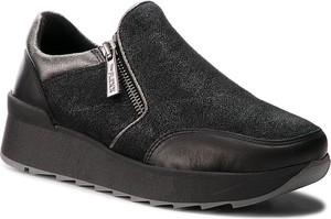 Sneakersy The Flexx z zamszu z płaską podeszwą