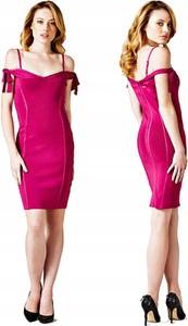 Sukienka Guess bandażowa mini