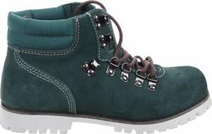 Turkusowe buty dziecięce zimowe Superga dla dziewczynek