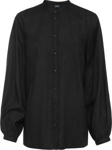 Czarna koszula bonprix z długim rękawem