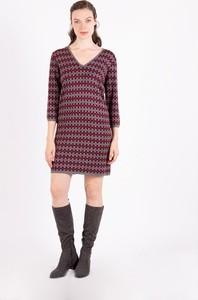 Sukienka MEXX z dekoltem w kształcie litery v w stylu casual mini