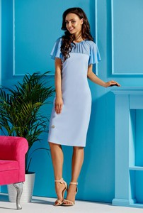 Sukienka Lemoniade z szyfonu midi