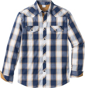Szara koszula bonprix john baner jeanswear