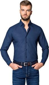 Koszula LANCERTO z długim rękawem z tkaniny