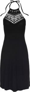 Czarna sukienka LASCANA