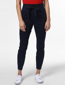 Granatowe spodnie Vero Moda w stylu klasycznym