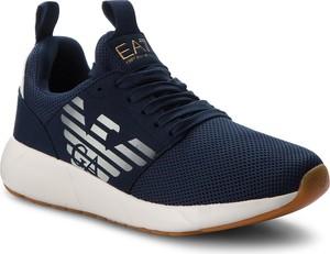 Granatowe buty sportowe EA7 Emporio Armani