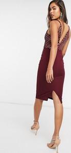 Czerwona sukienka Girl In Mind na ramiączkach